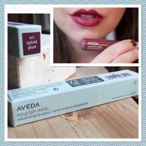 New AVEDA Spice Plum NourishMint Lip Glaze💚ADD-ON
